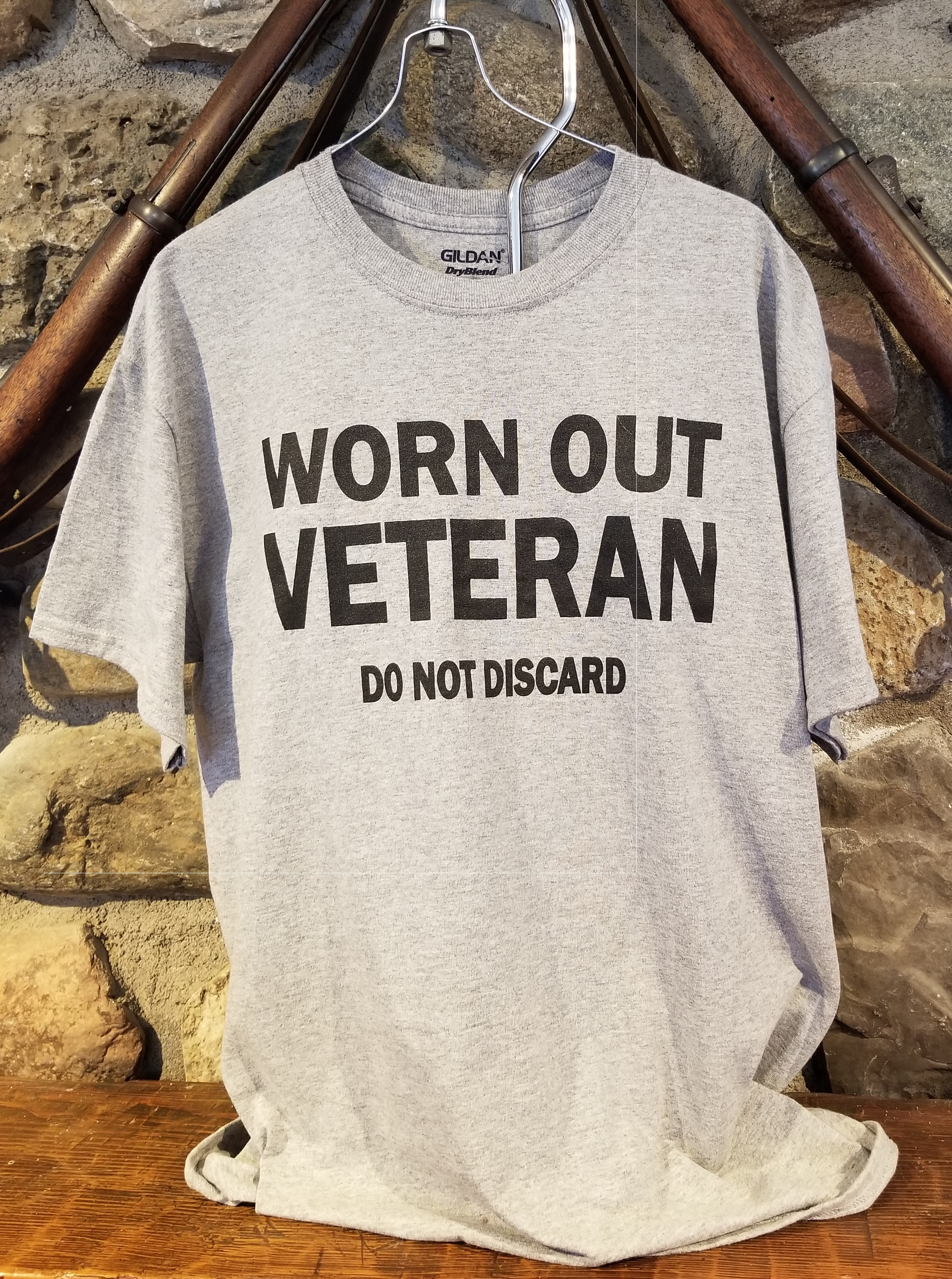 Worn Out Veteran Shirt