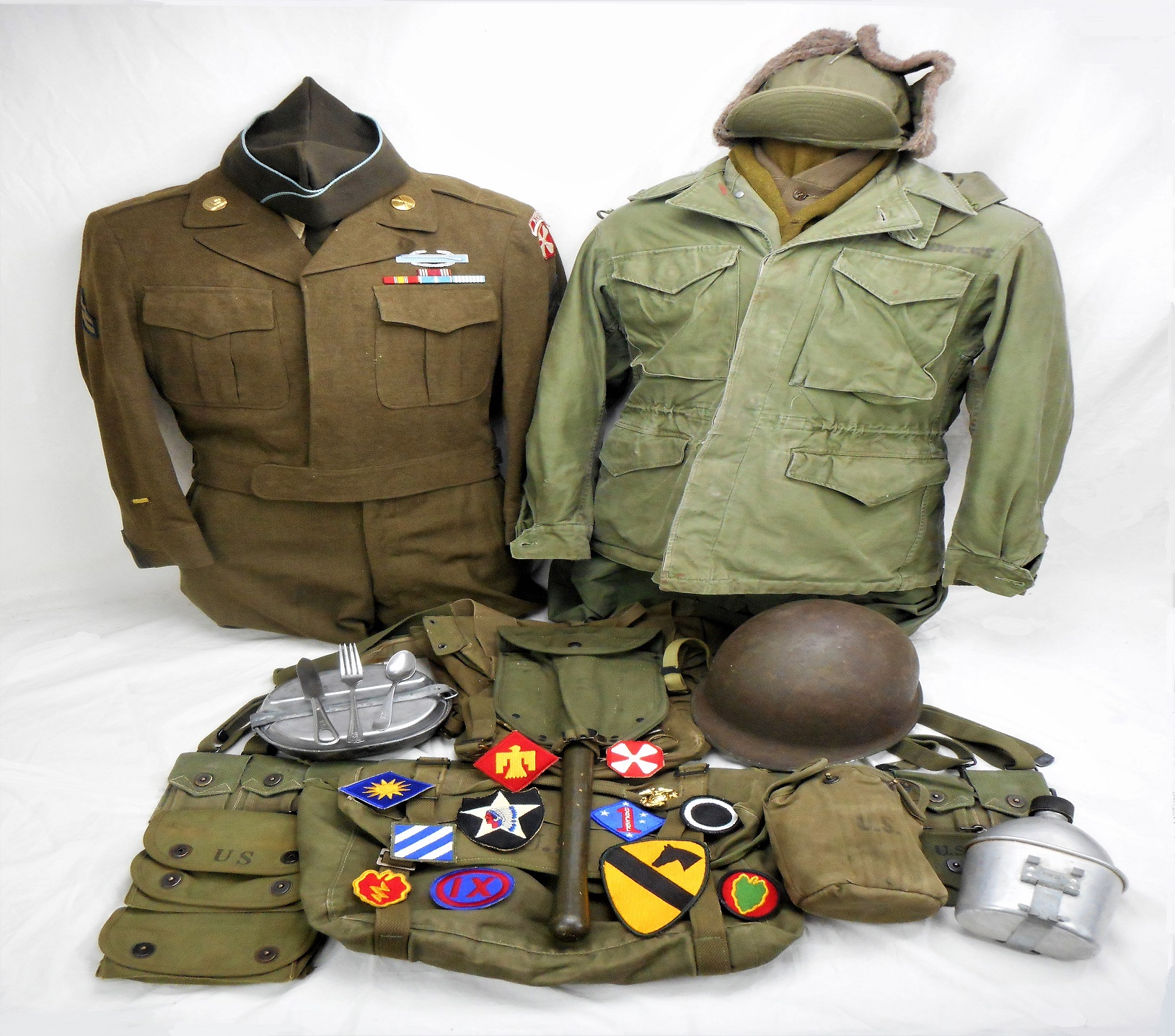 Korean War Trunk Contents