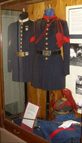 The story of Minnesota's early National Guard is told in the permanent exhibit