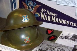 Memorabilia from the 34th Infantry Division.