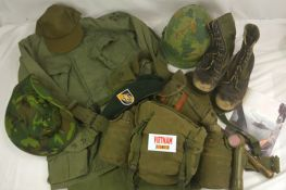 Contents of Vietnam War Trunk
