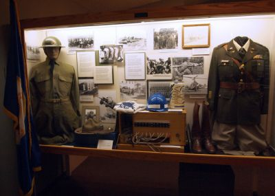 Find out about the history of the Minnesota National Guard in the State Forces exhibit.