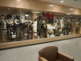 History of the 34th Infantry Division, 1917 to the Present,  in the Education Center.