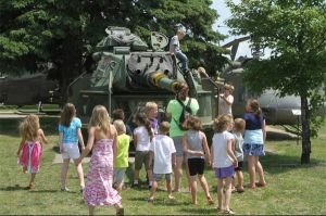 Kids always enjoy our tank turret
