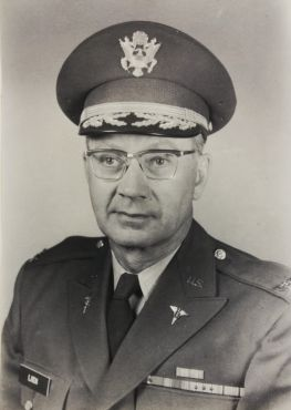 Col. John H. Lien in the 1960s