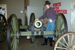 Forts on the Frontier, a permanent exhibit about the military's role in Minnesota's early development.