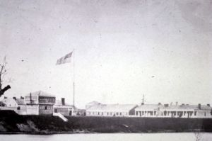 Frontier sentinel: Old Fort Ripley in 1862.