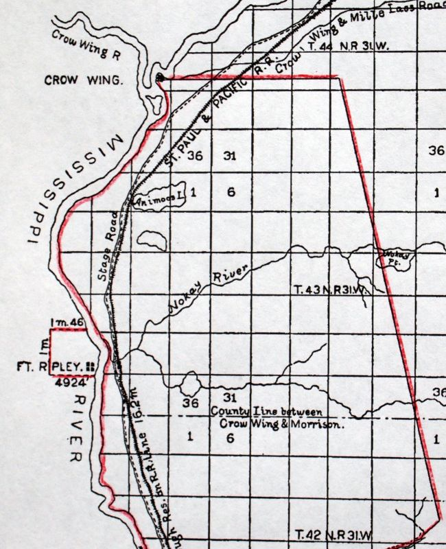 Military Historical Society of Minnesota :: Old Fort Ripley on camp san luis obispo map, camp grayling map, fort bridger map, camp parsons map, camp ashland map, camp rapid map, camp coniston map, camp butner map,