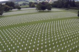 The Henri-Chapelle American Cemetery in Belgium is a final resting place for 7,992 American servicemen killed in WWII.
